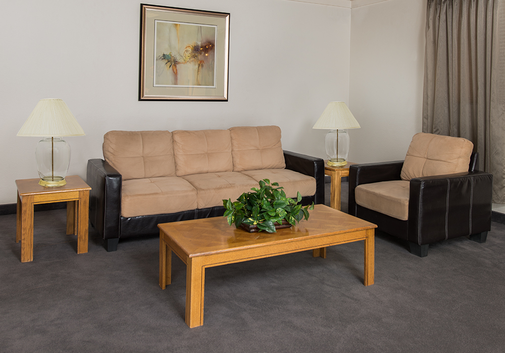 Basic Living Room at Custom Furniture Rental